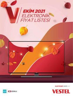 Vestel broşürdeki Teknoloji ve Beyaz Eşya dan fırsatlar ( 10 gün kaldı)