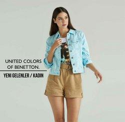 United Colors of Benetton broşürdeki United Colors of Benetton dan fırsatlar ( Yarın son gün)