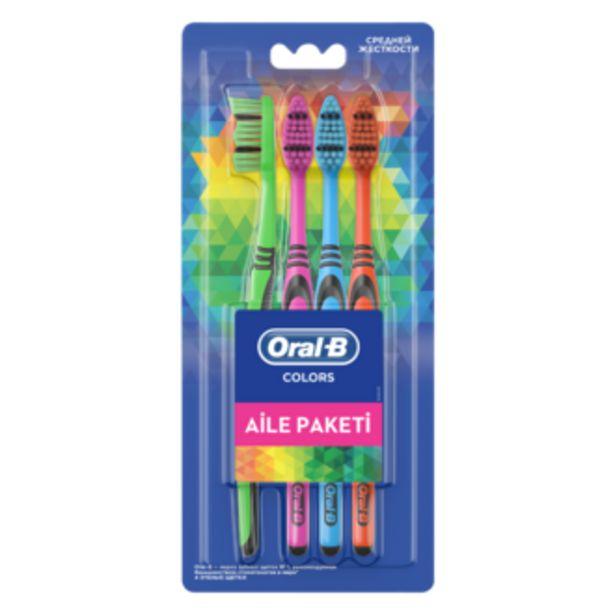 26,94 TL fiyatına Oral-B Premium Colors 4'lü Fırça