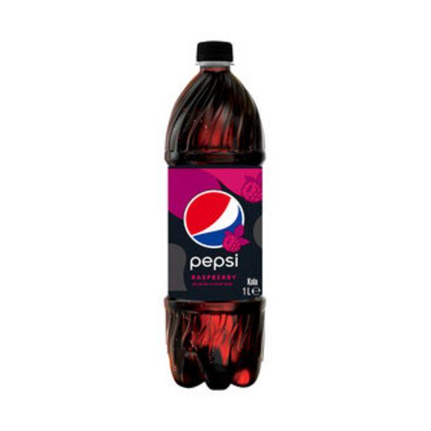 3,75 TL fiyatına Pepsi Raspbery Ahududu Aromalı Kola Pet 1 L