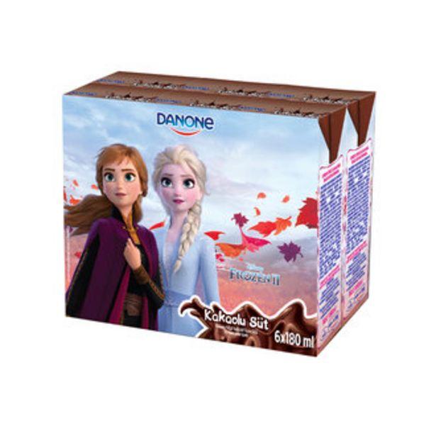 13,84 TL fiyatına Danone Disney Kakaolu Süt 6X180 Ml