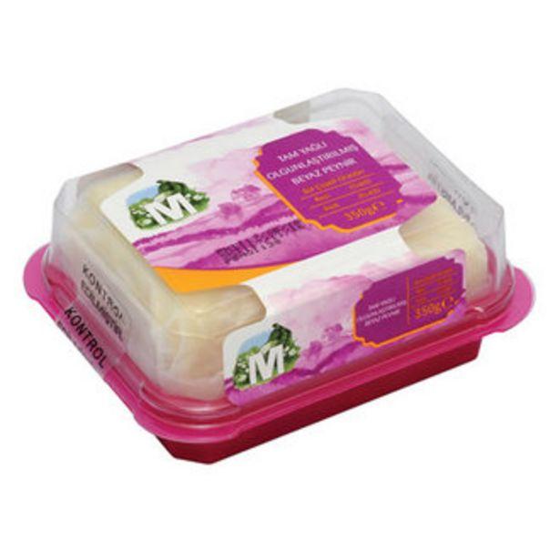 19,9 TL fiyatına Migros Tam Yağlı Beyaz Keçi Peyniri 350 G
