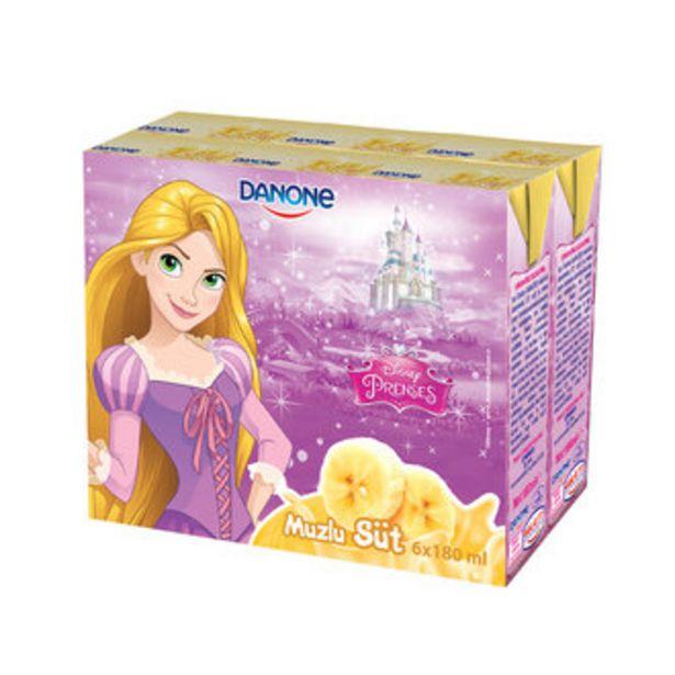 13,84 TL fiyatına Danone Disney Muzlu Süt 6X180 Ml