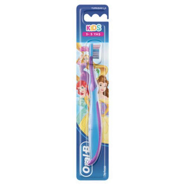 14,94 TL fiyatına Oral-B Kids Diş Fırçası 3-5 Yaş