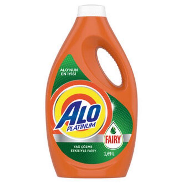 32,75 TL fiyatına Alo Platinum Fairy Etkili Sıvı Çamaşır Deterjanı 1.69 L