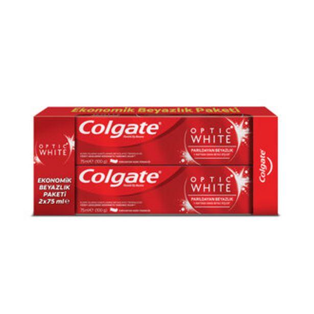 29,97 TL fiyatına Colgate Optik Beyaz 2'li Beyazlık Paketi 150 Ml