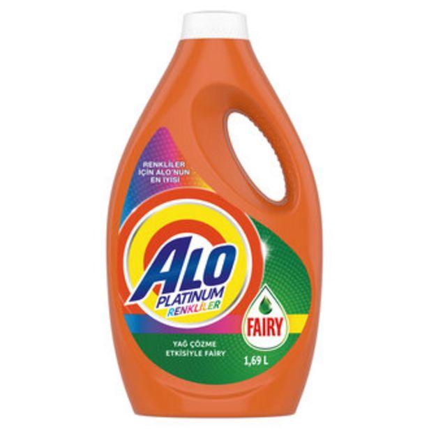 32,75 TL fiyatına Alo Platinum Fairy Etkili Renkliler Çamaşır Deterjanı 1.69 L