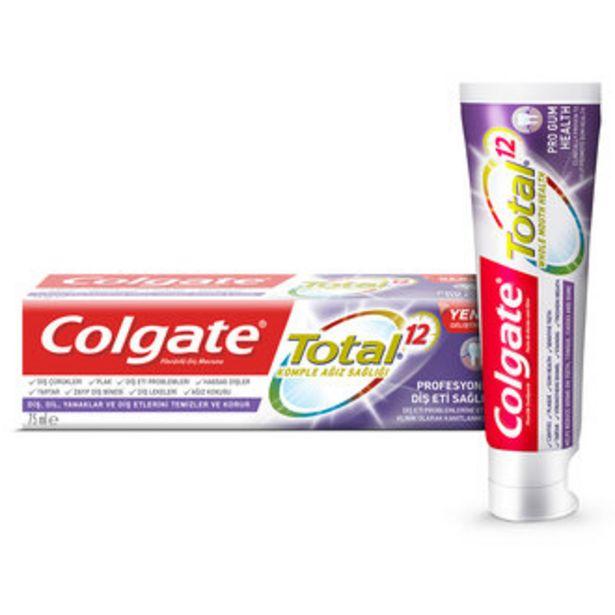 32,97 TL fiyatına Colgate Total Profesyonel Diş Eti Sağlığı Diş Macunu 75 Ml
