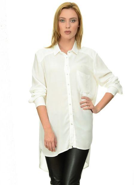 199,99 TL fiyatına Fridays Project Beyaz Gömlek