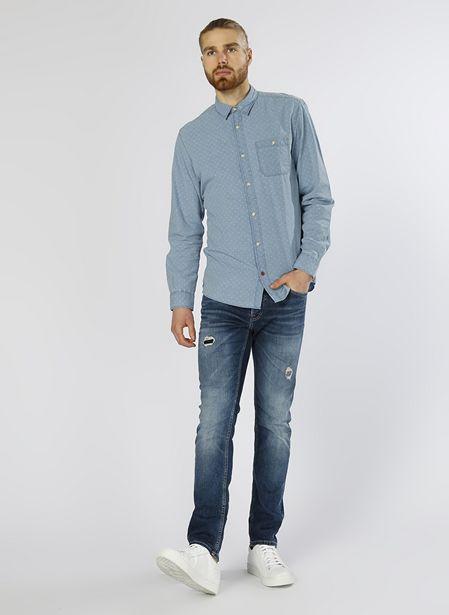 179,99 TL fiyatına Jack & Jones Açık Mavi Erkek Denim Pantolon