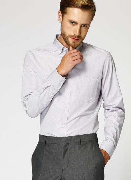 69,99 TL fiyatına Cotton Bar Erkek Kareli Bej Gömlek