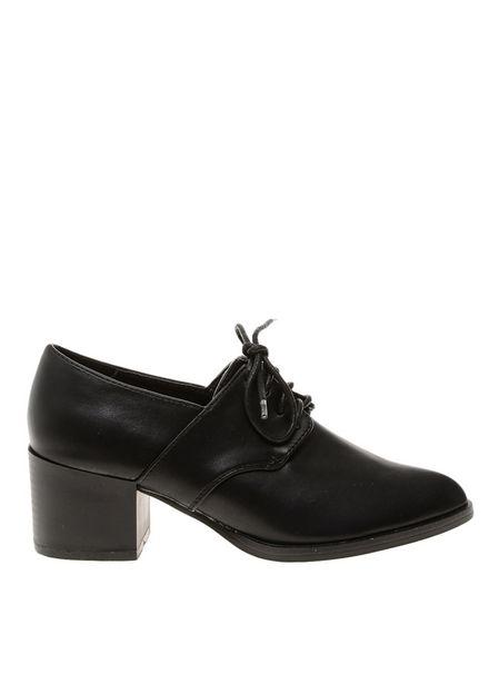 129,99 TL fiyatına Pieces Siyah Topuklu Ayakkabı
