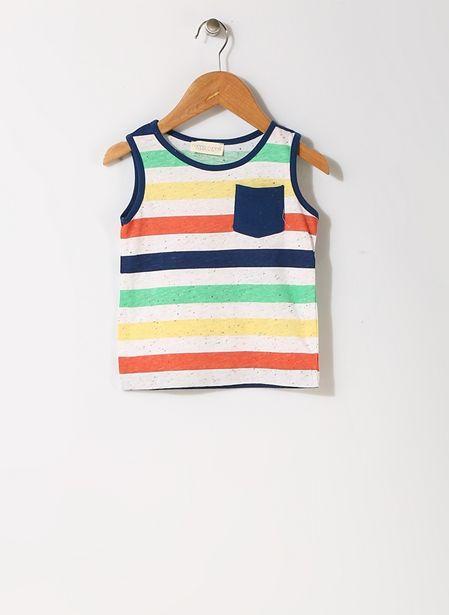 29,99 TL fiyatına Mammaramma Çizgili Renkli İç Giyim Atlet