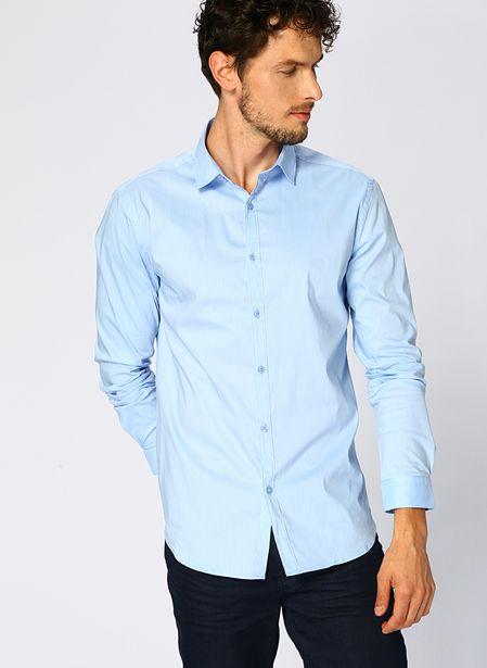 69,99 TL fiyatına Fabrika Mavi Gömlek
