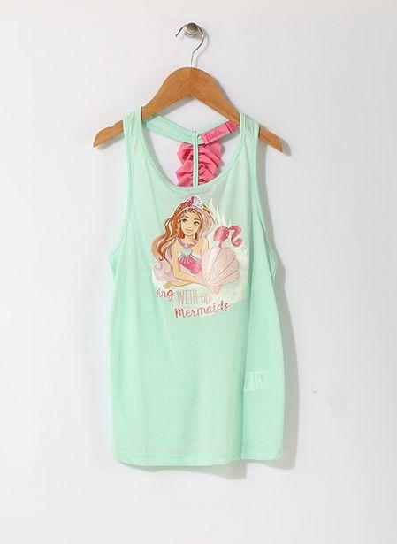 29,99 TL fiyatına Barbie Karakter Baskılı İç Giyim Atlet