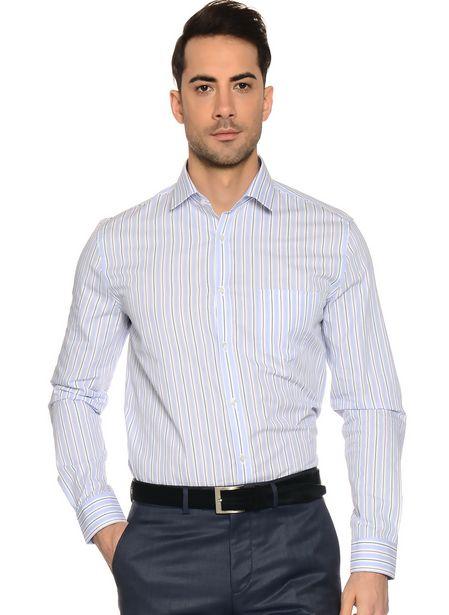 69,99 TL fiyatına Cotton Bar Mavi Erkek Gömlek