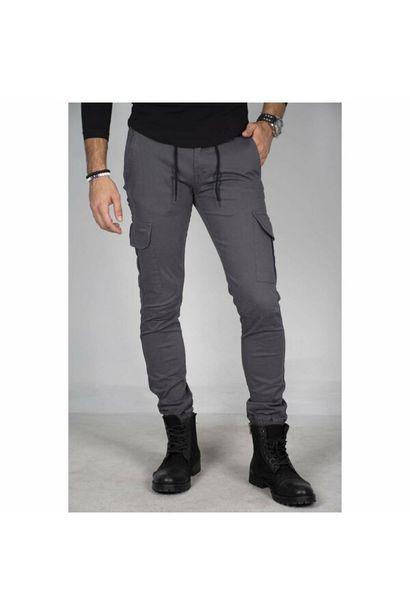 159,99 TL fiyatına Erkek Füme Beli Lastikli Kargo Pantolon