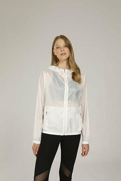 167,6 TL fiyatına GEORGINA RAINCOAT Beyaz Kadın Rüzgarlık Ceket