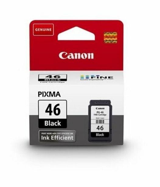169 TL fiyatına Canon Pg-46 Siyah Mürekkep Kartuş