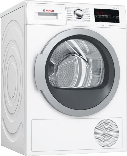 8399 TL fiyatına Bosch Wtw85420tr 9 KG Kurutma Makinesi