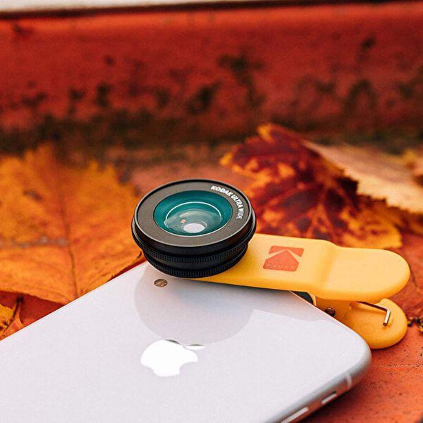 389 TL fiyatına Kodak Akıllı Telefonlar İçin 2+1 Lens Seti Ultra Geniş Açı ve Makro