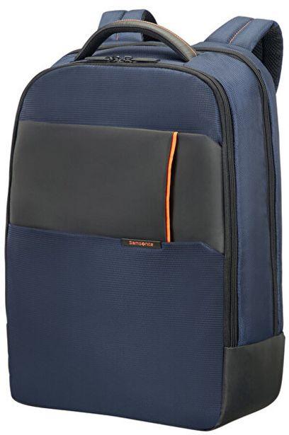 """719 TL fiyatına Samsonıte 16N-01-006 17.3"""" Qibyte Notebook Sırt Çantası Mavi"""