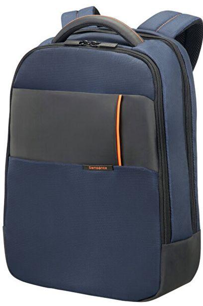 """679 TL fiyatına Samsonite 16N-01-005 15.6"""" Mavi Qibyte Notebook Sırt Çantası"""