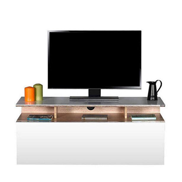 979,9 TL fiyatına Adore Vision TVC-529-SP-1 Çekmeceli Tv Sehpası Sonoma Lake Beyaz