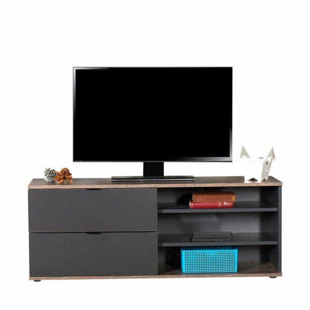599,9 TL fiyatına Adore Flat Line Plus TVC-502-LA-1 İki Çekmeceli Üç Bölmeli Tv Sehpası Latte Antrasit