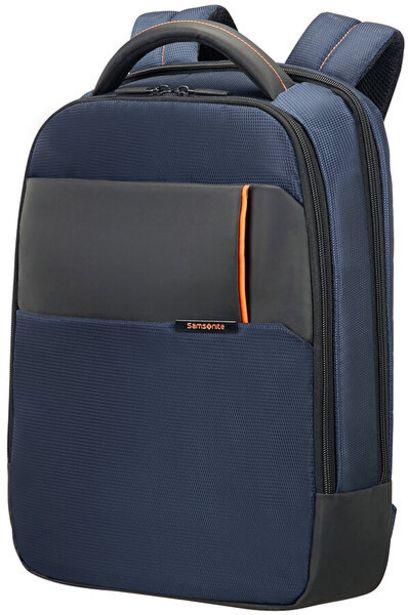 """639 TL fiyatına Samsonite 16N-01-004 14.1"""" Mavi Qibyte Notebook Sırt Çantası"""