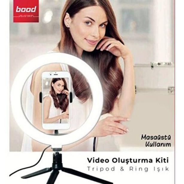 199 TL fiyatına Bood LK-202 Masa Üstü Vlog Influencer Set Mini Video Oluşturma Kiti