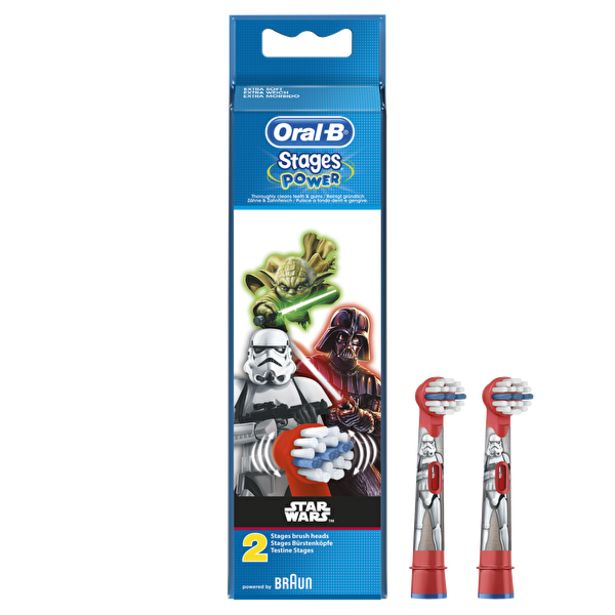59 TL fiyatına Oral-B EB10 Power Star Wars 2'li Yedek Başlık