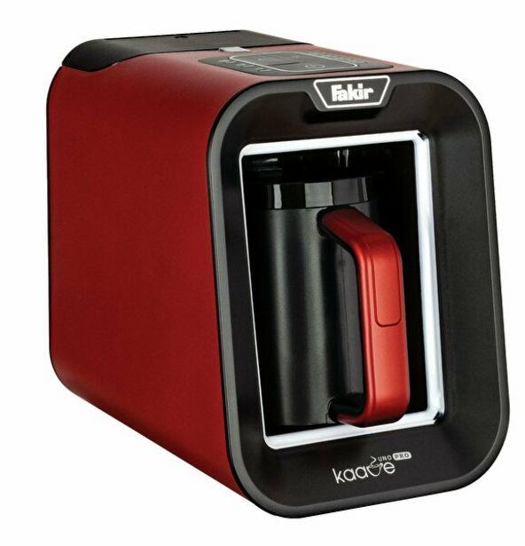 1199 TL fiyatına Fakir Kaave Uno Pro Türk Kahvesi Makinesi - Rouge