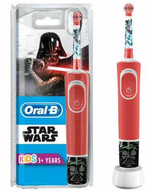 169 TL fiyatına Oral-B D100 Vitality  Starwars Şarjllı Çocuk Diş Fırçası