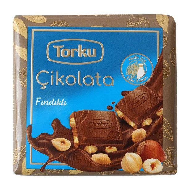 5,75 TL fiyatına Torku Fındıklı Çikolata 65 gr