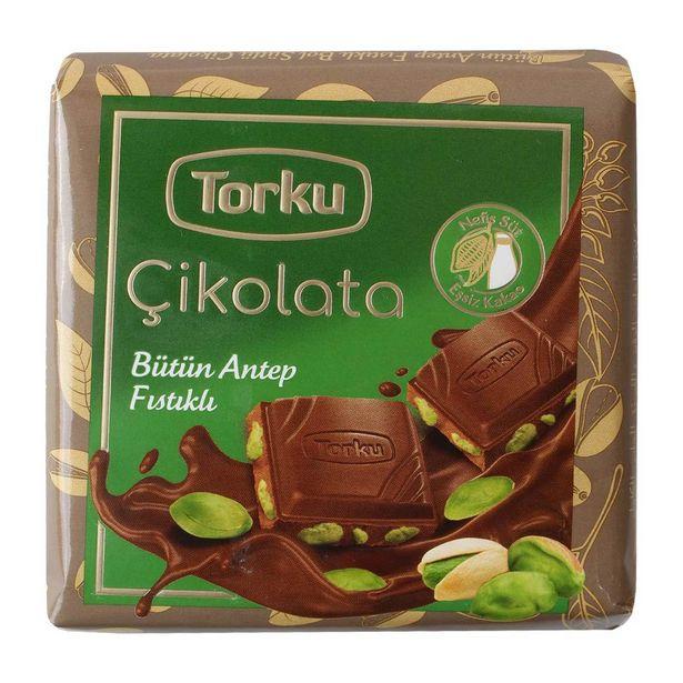 5,99 TL fiyatına Torku Antep Fıstıklı Çikolata 65 gr