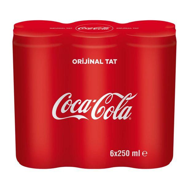 16,99 TL fiyatına Coca Cola 6X250 ml