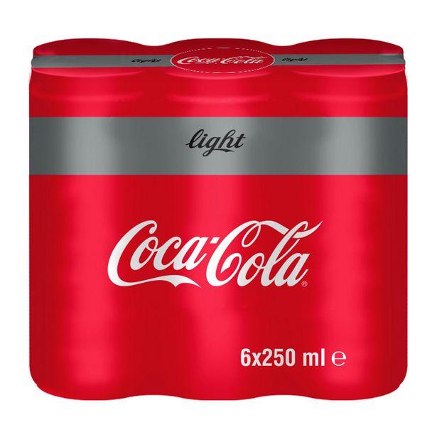 16,99 TL fiyatına Coca Cola Light Kutu 6X250 ml
