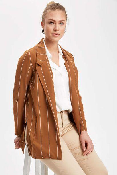 94,99 TL fiyatına Çizgili Blazer Ceket
