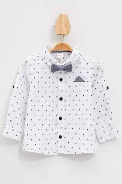 69,99 TL fiyatına Erkek Bebek Regular Fit Uzun Kollu Gömlek