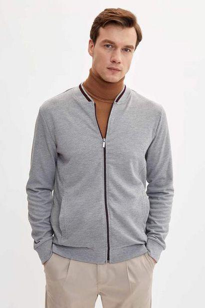 139,99 TL fiyatına Slim Fit Bomber Sweatshirt