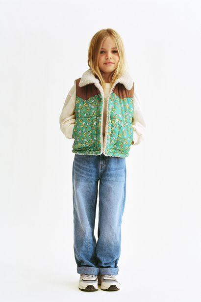 299,95 TL fiyatına QUILTED GILET WITH A CONTRAST FLORAL PRINT- LIMITED EDITION