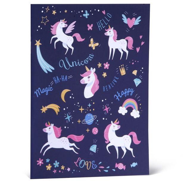5 TL fiyatına Funny Stationery Love Unicorn A5 Not Defteri