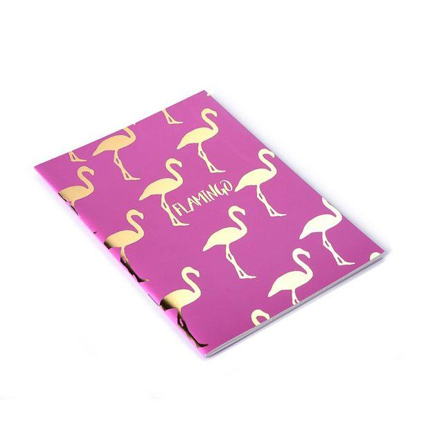 5 TL fiyatına Kiwoo Design Flamingo Varaklı Not Defteri