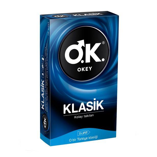 29,25 TL fiyatına Okey Klasik Prezervatif 10'lu