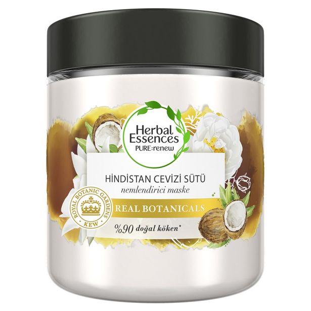 39,5 TL fiyatına Herbal Essences Hindistan Cevizi Sütü Saç Maskesi 250 ml