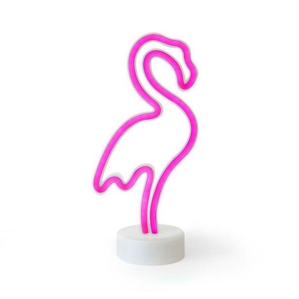 26,75 TL fiyatına Petrix Mini Neon Flamingo Aydınlatma 89007F (20 cm)