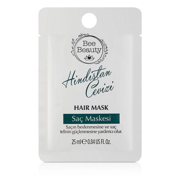 4 TL fiyatına Bee Beauty Saç Maskesi Hindistan Cevizi Yağı 25 ml