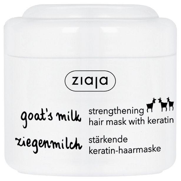 27 TL fiyatına Ziaja Keçi Sütü Keratinli Saç Maskesi 200 ml