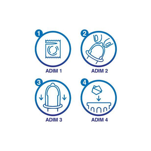26,25 TL fiyatına Durex Yakın Hisset Prezervatif 10 Adet